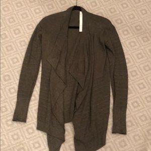 Lululemon Grey Cardigan. Size 4